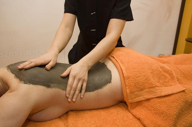 bahenní masáž