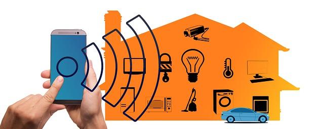 ovládání domu přes mobil