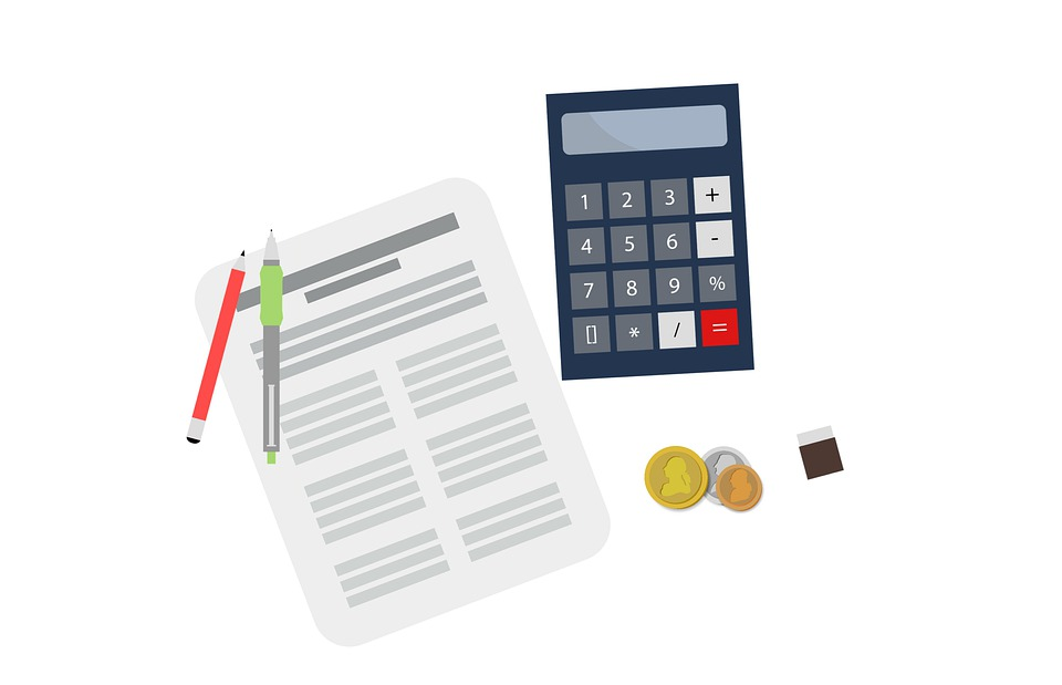 kalkulačka a smlouva