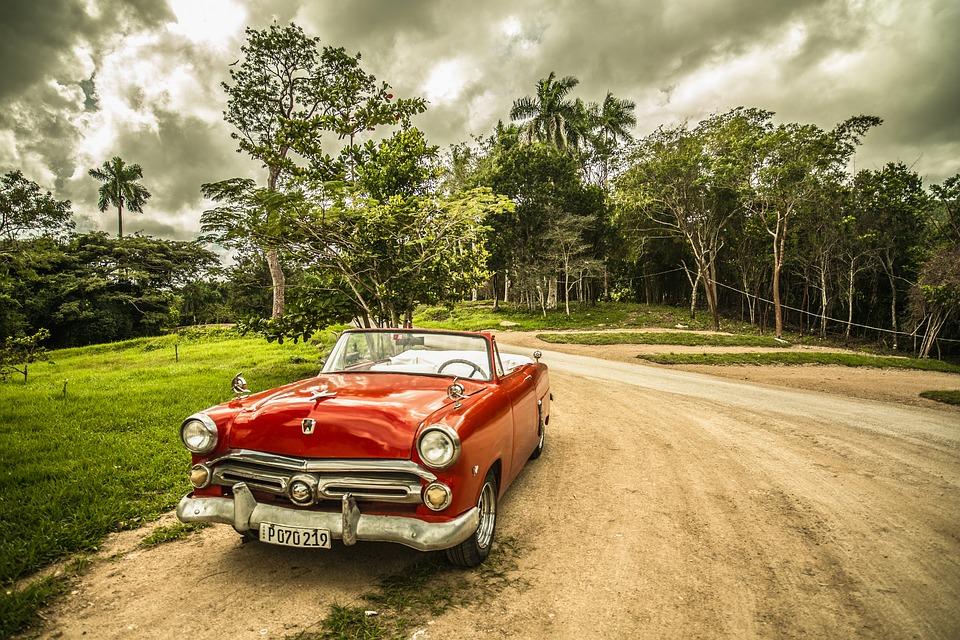 starší vůz